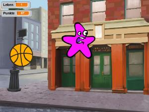 Basketball Pong